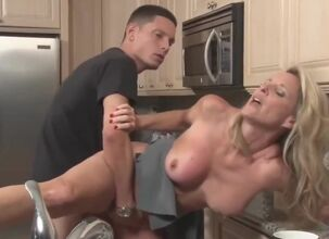 Stepmom forced fuck
