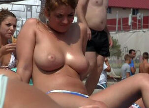 Mature women topless
